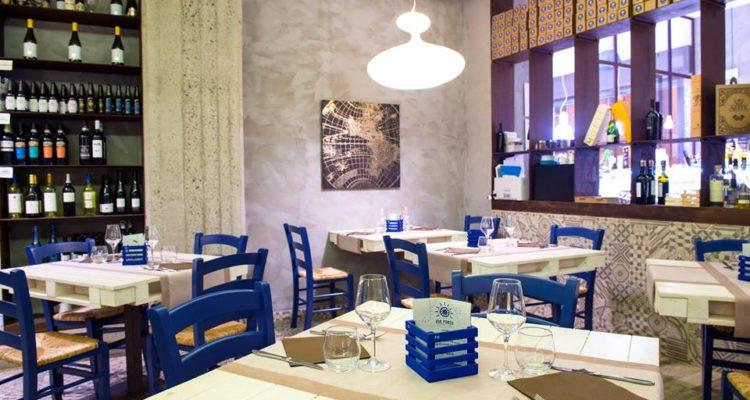interni del ristorante via porto salerno